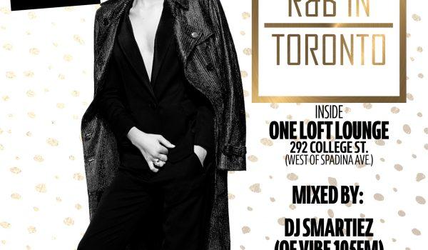 R&B IN TORONTO SATURDAYS NOV PROMO CD
